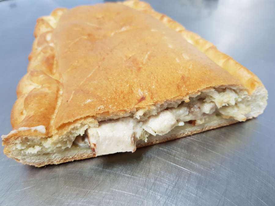 Empanada de pollo con bechamel
